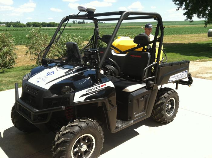 Youngblut AG Precision Farming System in Polaris Ranger